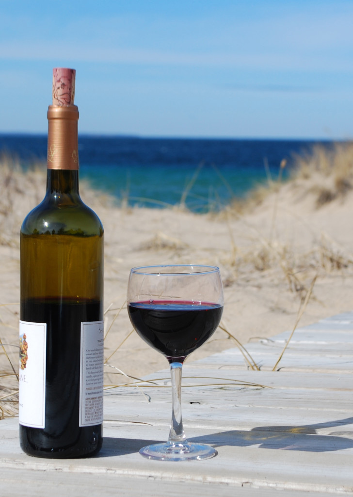 Wine at Beach 17
